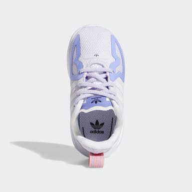 Infant & Toddler Originals Purple ZX 2K Flux Shoes
