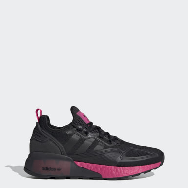 Women Originals Black ZX 2K Boost Shoes