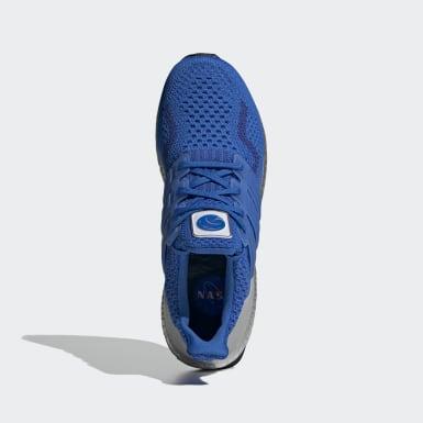 Muži Běh modrá Boty Ultraboost 5.0 DNA
