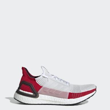 ผู้ชาย วิ่ง สีขาว รองเท้า Ultraboost 19