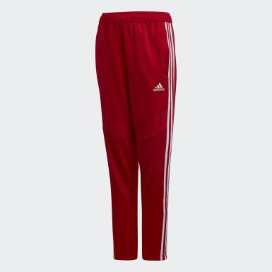 Pantalon d'entraînement Tiro 19 rouge Adolescents Soccer