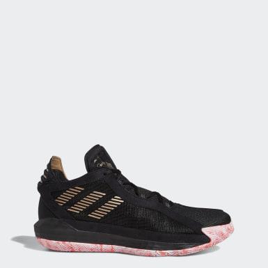 บาสเกตบอล สีดำ รองเท้า Dame 6