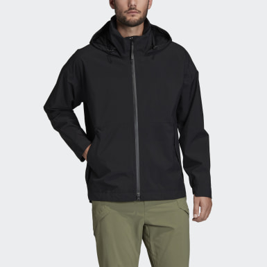 Men's Hiking Black Outerior RAIN.RDY Rain Jacket