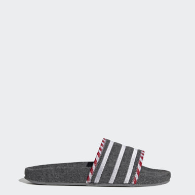 Originals adilette Grau