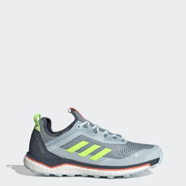 Sapatos de Trail Running Agravic Flow GORE-TEX TERREX Azul Mulher TERREX
