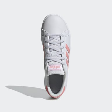 Tenis Grand Court Gris Niño Sport Inspired