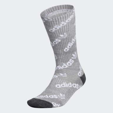 Men's Originals Grey Forum Repeat Crew Socks