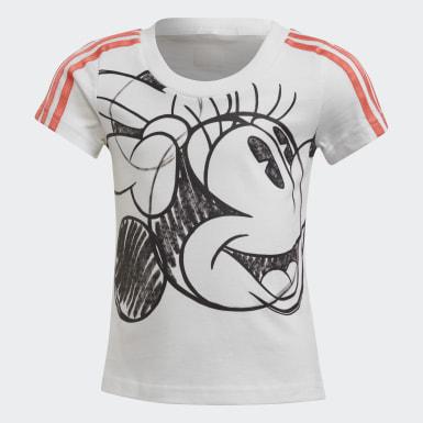 белый Комплект: футболка и юбка Minnie Mouse