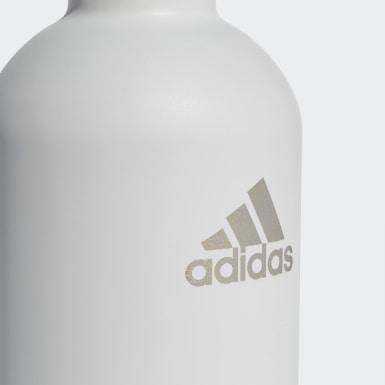 Tennis Steel Trinkflasche 750 ml Weiß