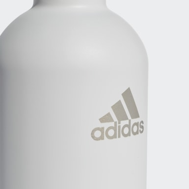 Tennis White Steel Water Bottle .75 L