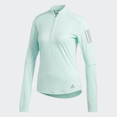 Camiseta Own the Run Turquesa Mujer Running