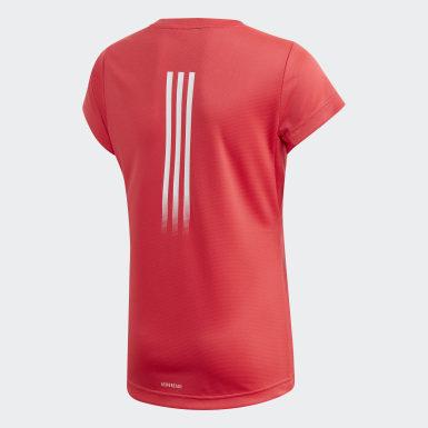 Camiseta AEROREADY Rosa Meninas Training