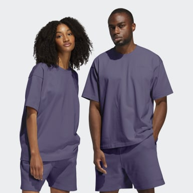 Camiseta Pharrell Williams Basics (Género neutro) Violeta Originals