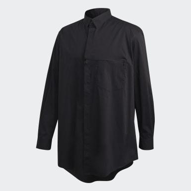 Mænd Y-3 Sort Y-3 Classic skjorte