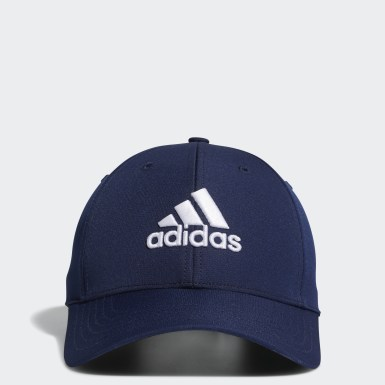 Men Golf Blue Performance Hat
