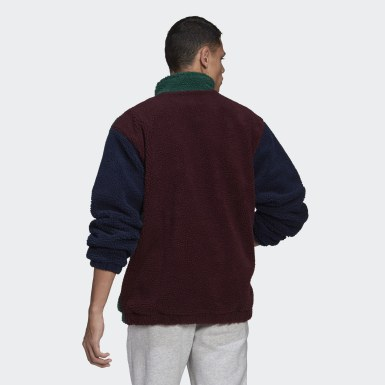 Herr Originals Grön Collegiate Crest Jacket