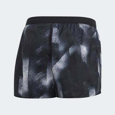 Shorts Split Sub Negro Hombre Running