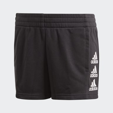 Youth 8-16 Years Training Black Must Haves Shorts