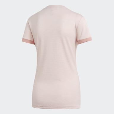 Women Football Pink Manchester United Away Jersey