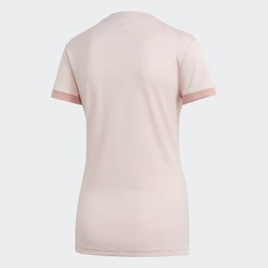 Kvinder Fodbold Pink Manchester United udebanetrøje