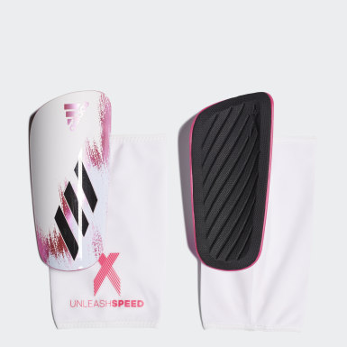 X 20 League Shin Guards Bialy