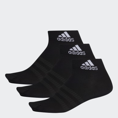Socquettes (3 paires) Noir Tennis