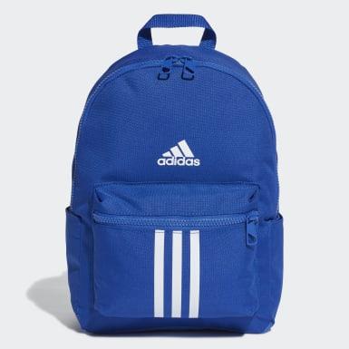 เด็ก เทรนนิง สีน้ำเงิน กระเป๋าเป้ทรงคลาสสิก