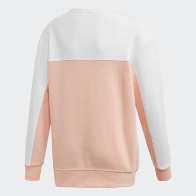 Boys Originals Pink Crew sweatshirt