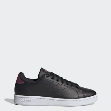 Women Sport Inspired Black Advantage Shoes