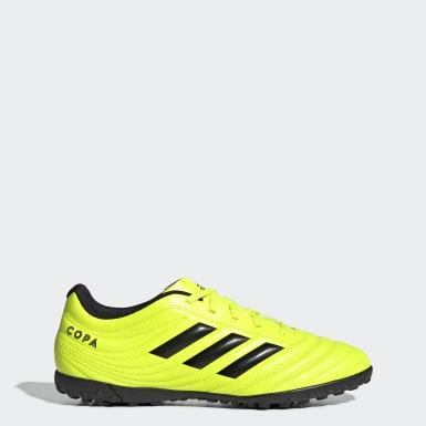 Men Football Yellow Copa 19.4 Turf Boots