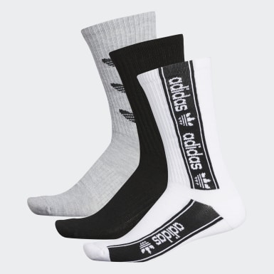 Originals Triple Branded Crew Socks 3 Pairs