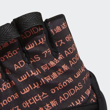 เทรนนิง สีดำ ถุงมือเทรนนิง
