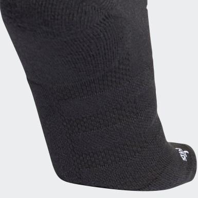 Běh černá Ponožky Alphaskin Lightweight Cushioning Ankle