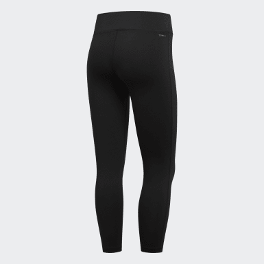 Women's Essentials Black Fabric Mix Tights