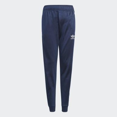 Děti Originals modrá Sportovní kalhoty Adicolor SST