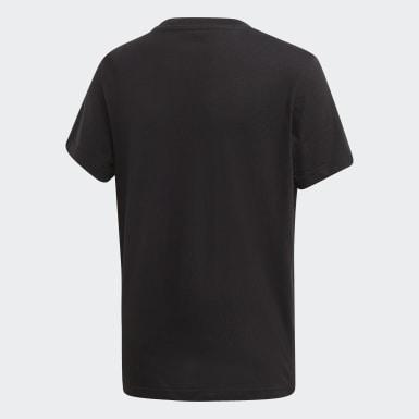 เด็ก Originals สีดำ เสื้อยืด Trefoil