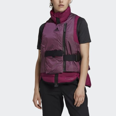 Giacca senza maniche imbottita COLD.RDY Bordeaux Donna City Outdoor
