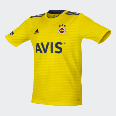 Youth Football Yellow Condivo 18 Jersey