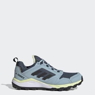 Ženy TERREX zelená Tenisky Terrex Agravic TR GORE-TEX Trail Running Shoes