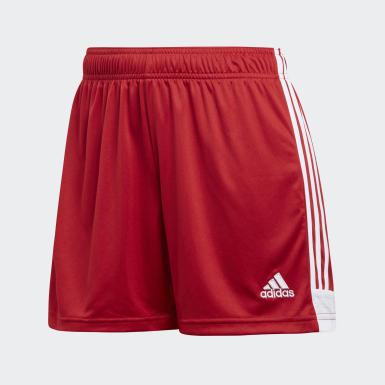 Short Tastigo 19 rouge Femmes Soccer