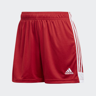 Women Soccer Red Tastigo 19 Shorts