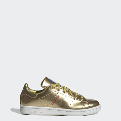 STAN SMITH J Oro Bambini Originals