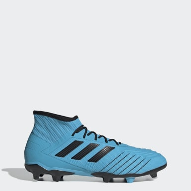 Men Football Turquoise Predator 19.2 Firm Ground Boots