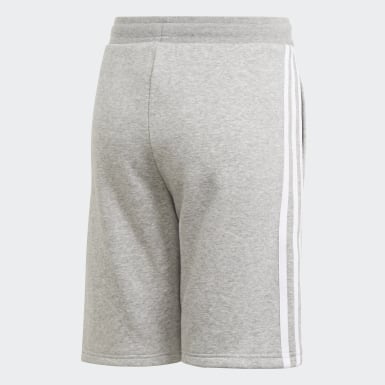 Youth 8-16 Years Originals Grey Fleece Shorts