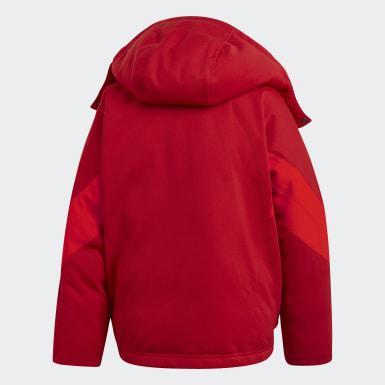 Chamarra Rojo Mujer Originals
