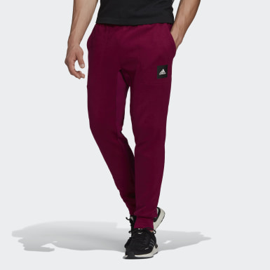 Heren Athletics Paars Must Haves Stadium Broek