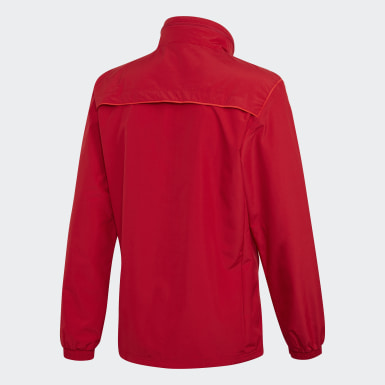 Heren Voetbal Rood Tiro 19 All-Weather Jack