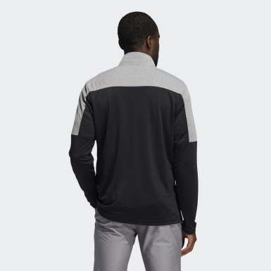 Mænd Golf Sort Lightweight Quarter-Zip sweatshirt
