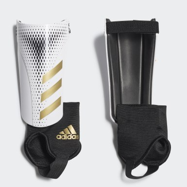 Protège-tibias Predator 20 Match blanc Adolescents Soccer