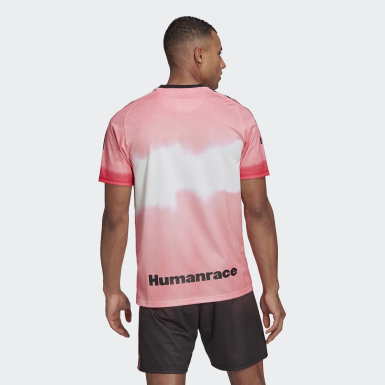 Men Football Pink Juventus Human Race Jersey